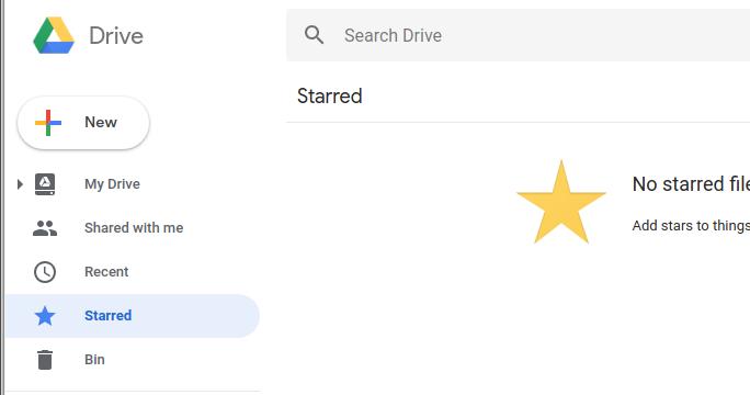 Google Drive - New File