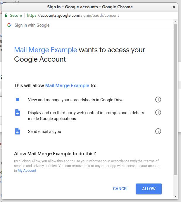 Google Apps Script - Permissions Review