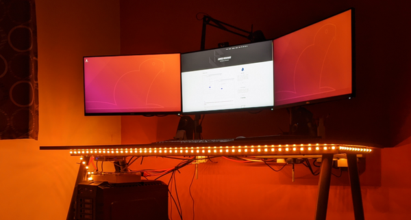 Using a Raspberry PI to Make My Office Desk Glow (Part 2)