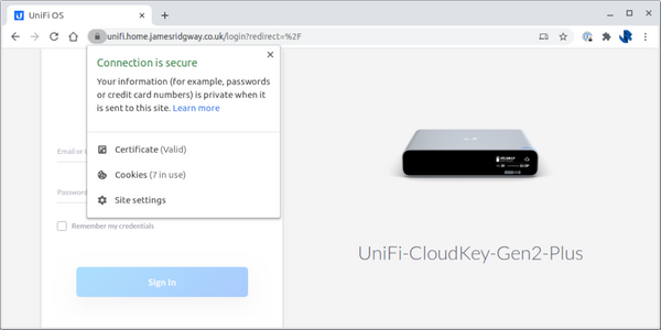 Auto-renewing SSL Certificate for UniFi Cloud Key running UniFi OS using Let's Encrypt and Cloudflare DNS Validation